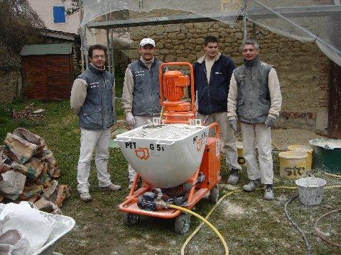 G5 chantier joint